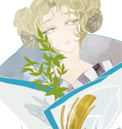 葉っぱを描く