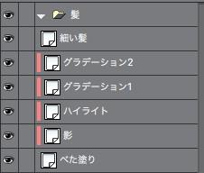 レイヤー構成(例)