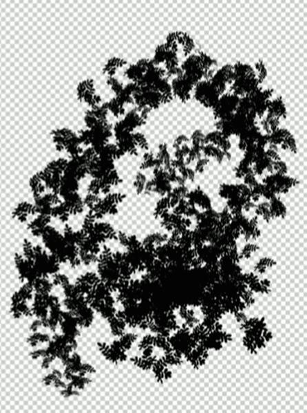 改良された葉っぱのブラシ