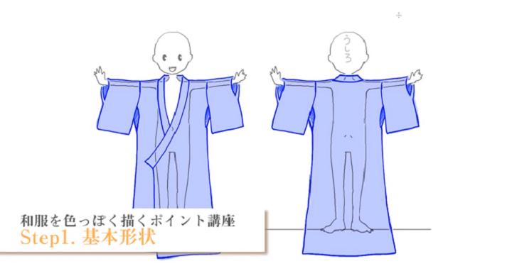 和服の基本