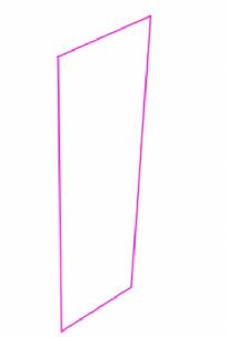 俯瞰で描く長方形