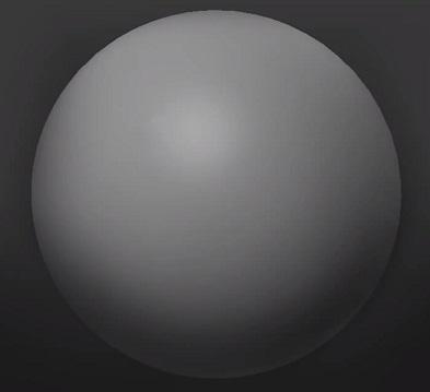 球体の質感表現