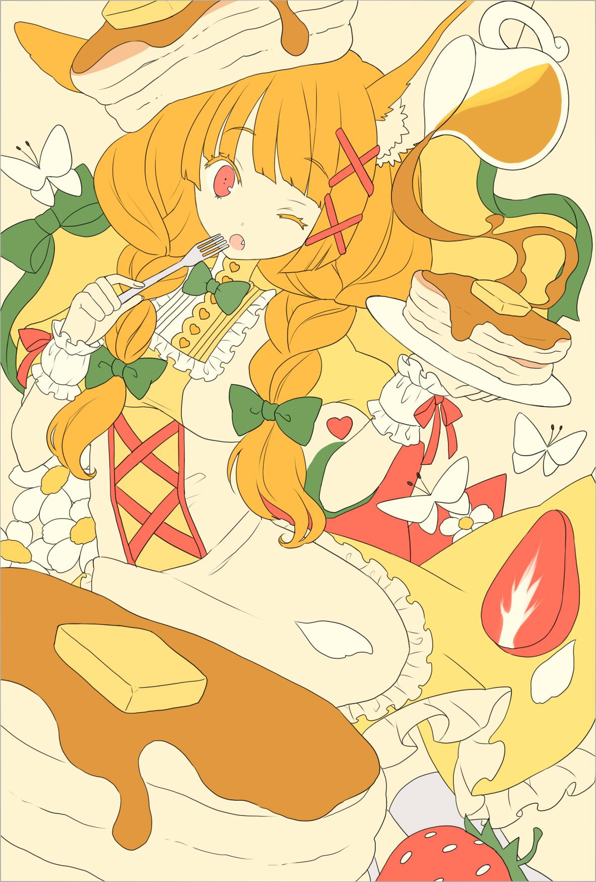 夢ノ内さんの構図のイラスト