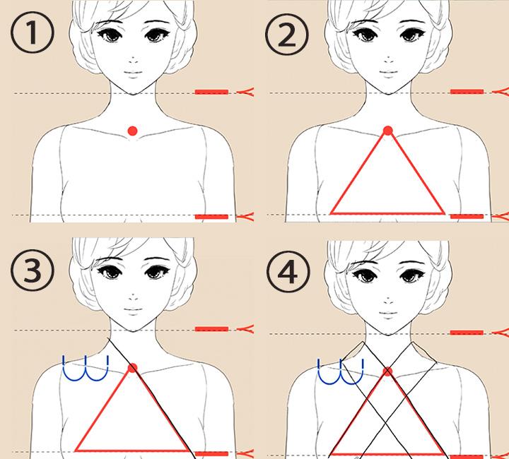 女性の浴衣の描き方講座 浴衣と着物の違い特徴を解説お絵かき