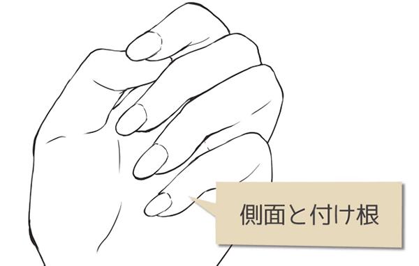 爪の様々な描き方