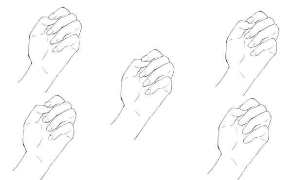 爪を描かないも可