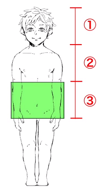 学童期の体型は寸胴