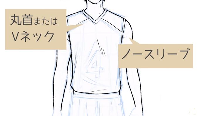 シャツの種類