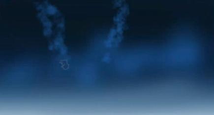 エアブラシで煙のような表現