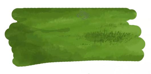 地面の完成イラスト