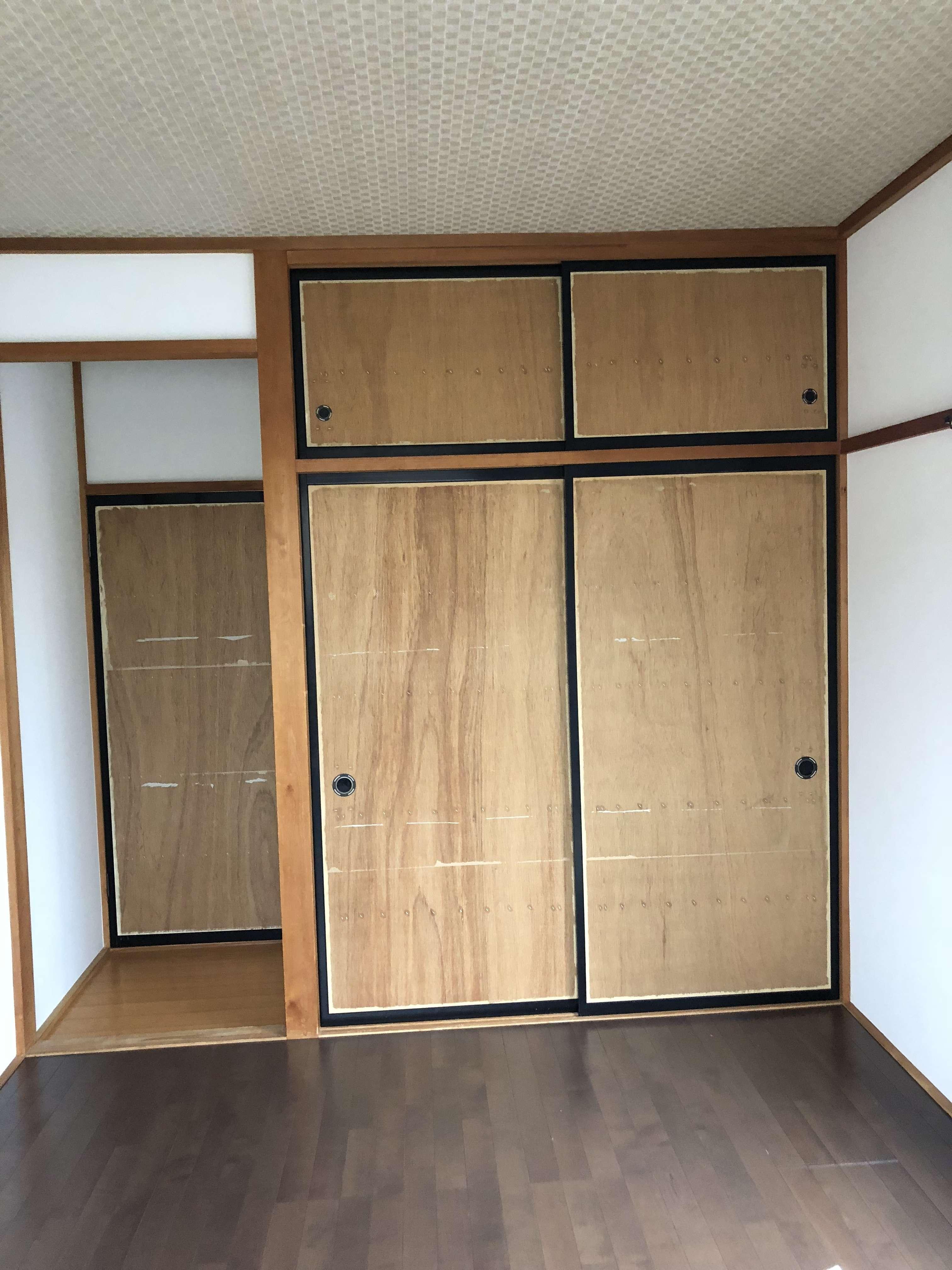静岡 壁紙 襖 クロス張替え工事 クロス張替え 内装工事 クリーニングは静岡市のac Trustへ