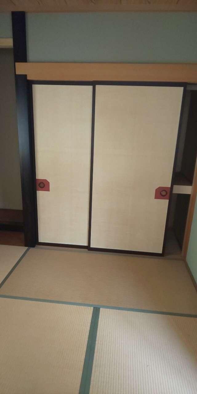 静岡市 和室 襖 壁紙 内装工事 クロス張替え 内装工事