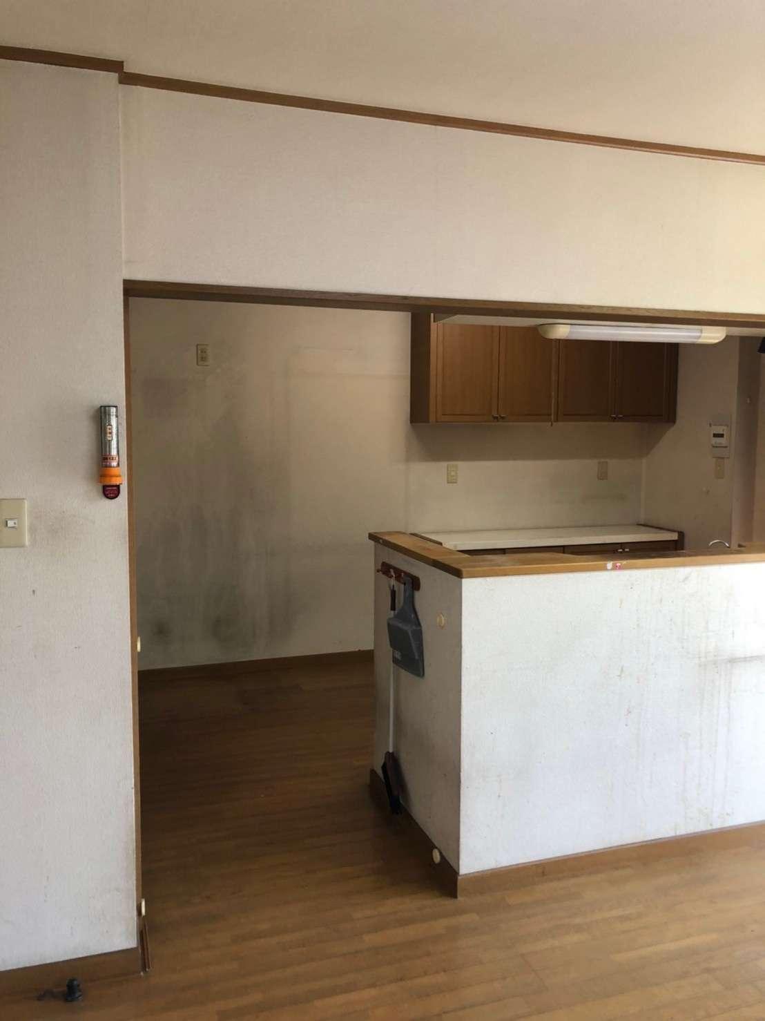 静岡市 キッチン 壁紙 クロス 内装工事 クロス張替え 内装工事 クリーニングは静岡市のac Trustへ