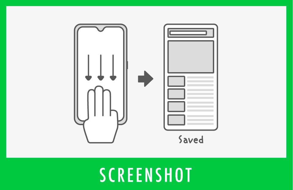 カンタン!3本指で画面キャプチャ―【3本指スクリーンショット】