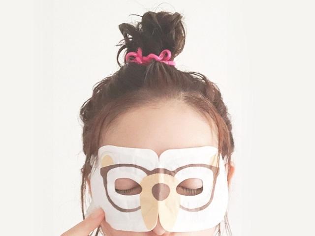 眼精疲労緩和や美容効果で大人気の温感アイマスクにニュータイプ登場!「ながら温アイマスク」が可愛くて便利!
