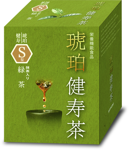 琥珀バイオテクノロジー提供_緑茶30影あり