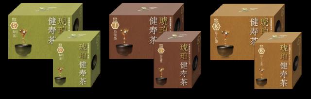 琥珀健寿茶公式HP_kenju-series
