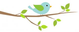 フリー素材_小鳥④