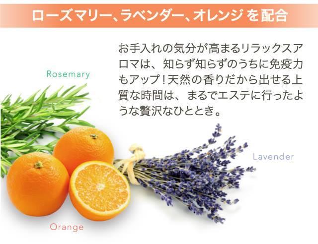 homeobeau_オレンジ・ラベンダー・ローズマリー