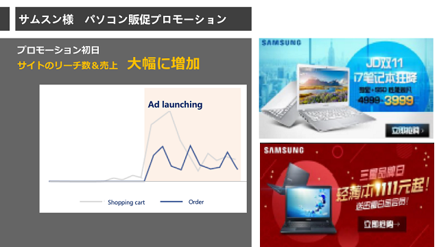 「Tencent Tui」の成功事例:サムスン電子