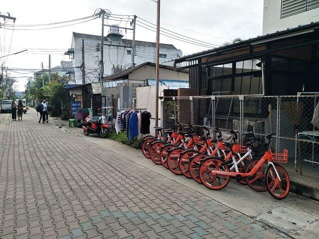 中国のシェアサイクルは外国でもあれば便利であることに変わりない