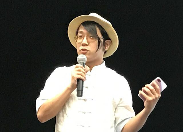 在中日本人クリエイター、山下智博氏
