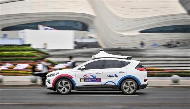 百度、自動運転タクシー「Robotaxi」の試験営業開始