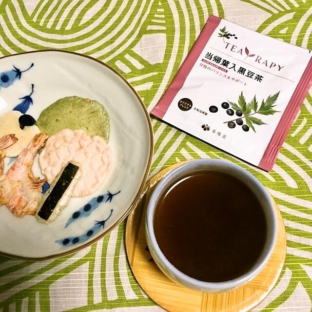 黒豆香る美味しいお茶