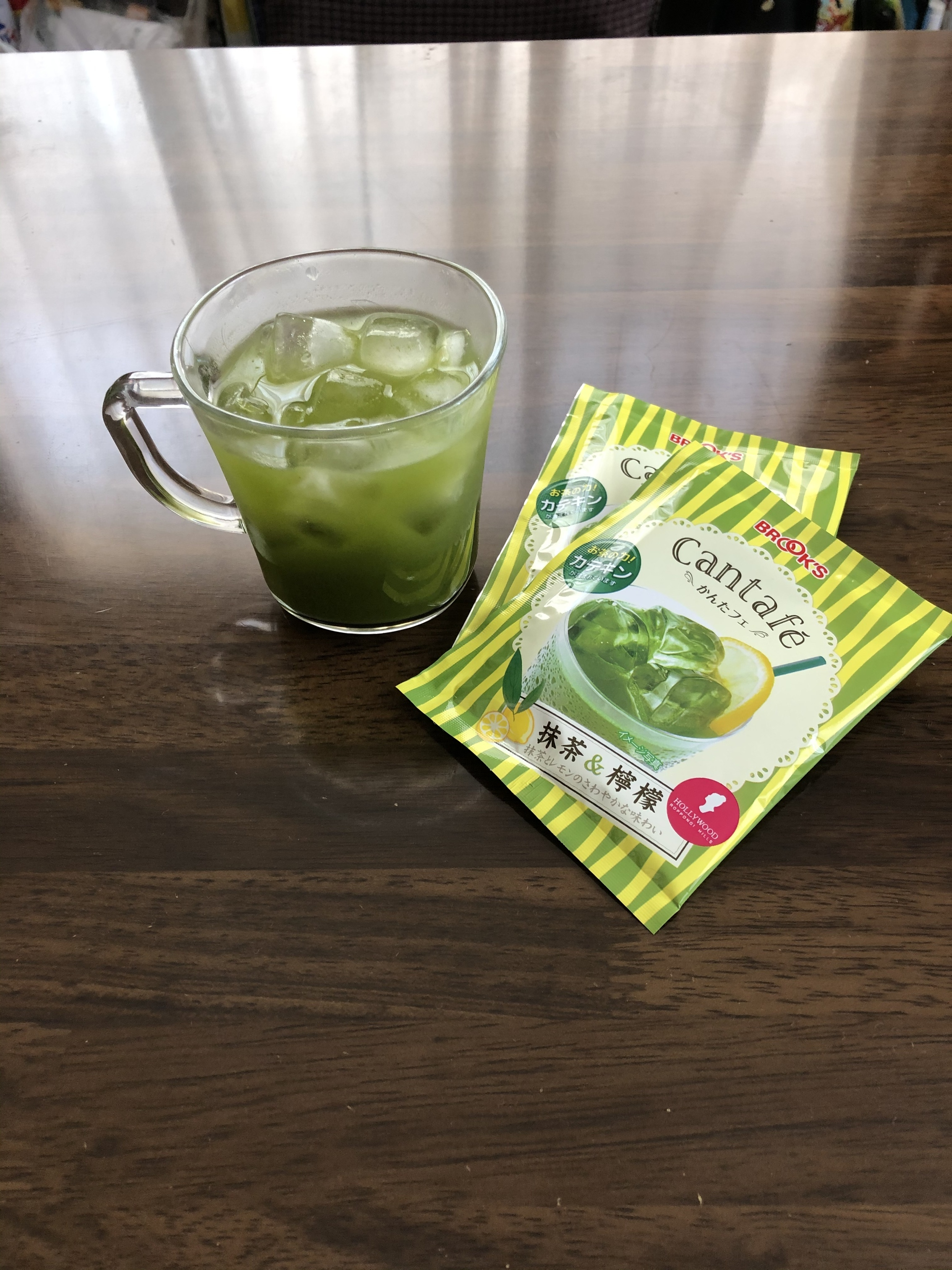 かんたフェ抹茶&檸檬