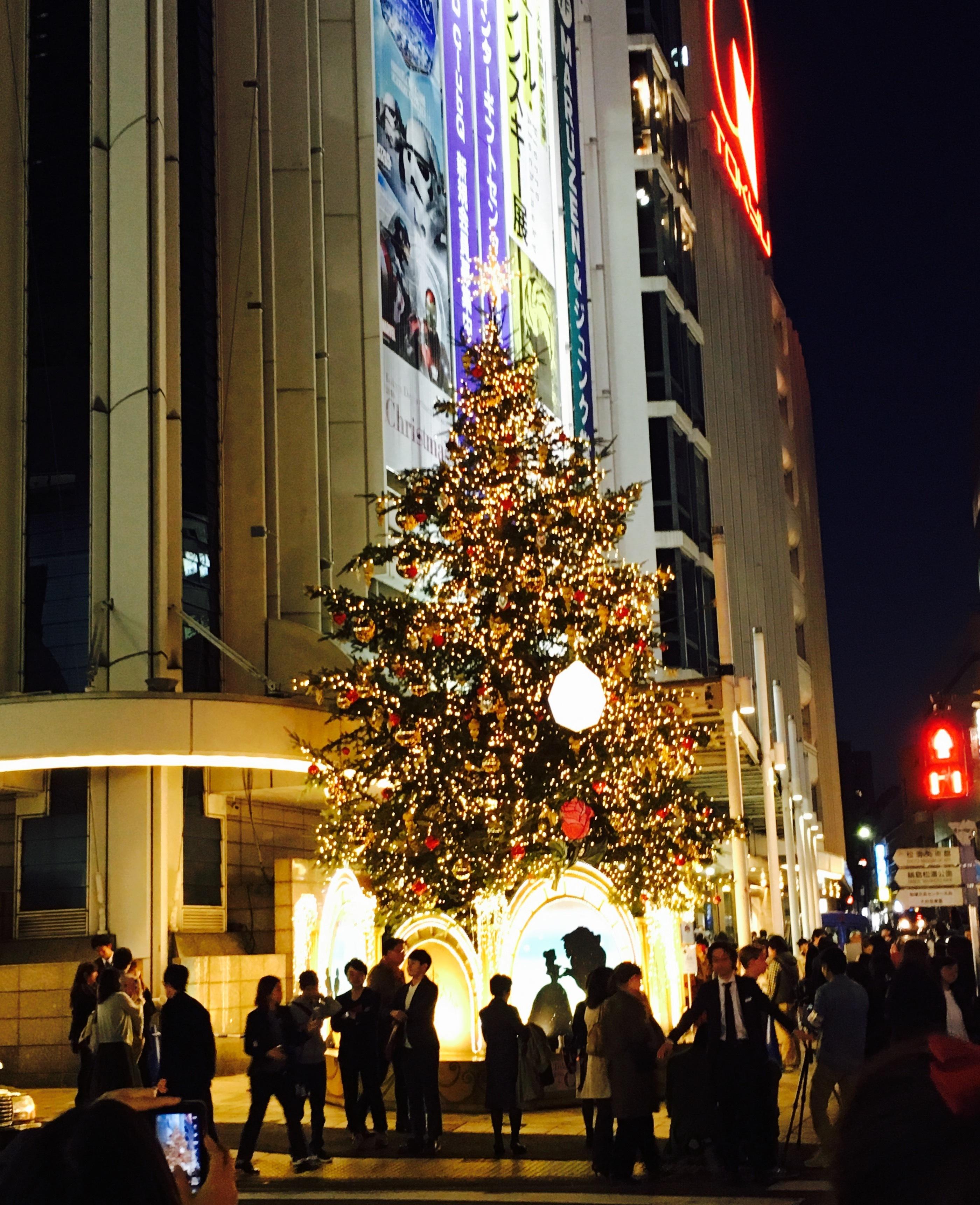 東急百貨店のクリスマス