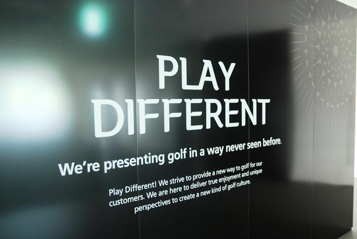 """""""Play Different""""~今までに見たことのない新しい世界でゴルフを楽しもう~"""