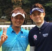 男子プロゴルファーナビ「中日クラウンズ2015」