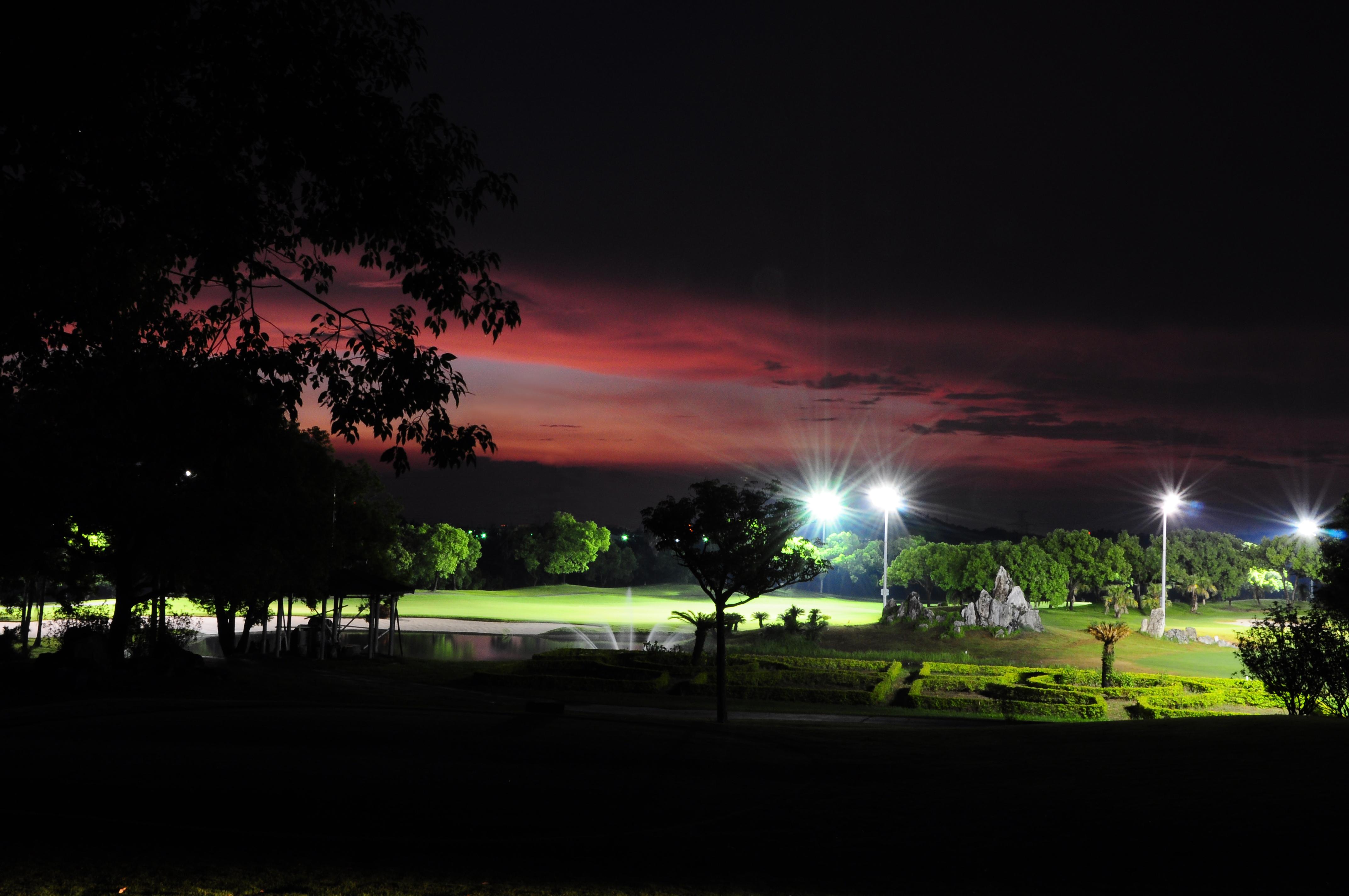 【ただはるのFINESHOT in TAIWAN】広大な敷地に造られた台湾南部唯一のナイターコース「大崗山ゴルフコース」