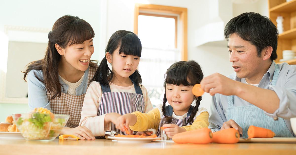 6月は「食育月間」。家族で食事の楽しさに触れよう!
