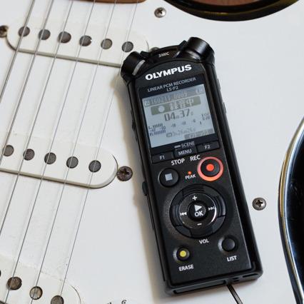 ギズモード社内バンド結成!LS-P2の性能を検証!