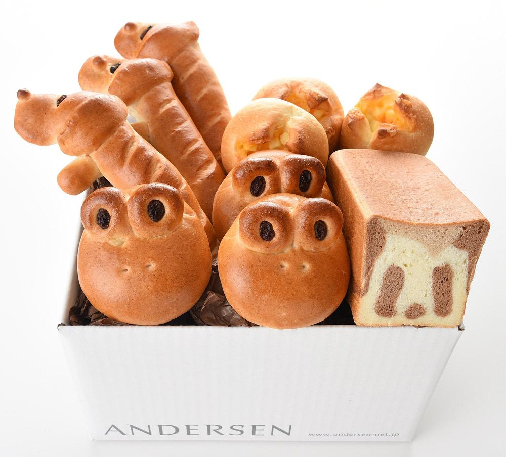 パンダ食パン&動物ロール