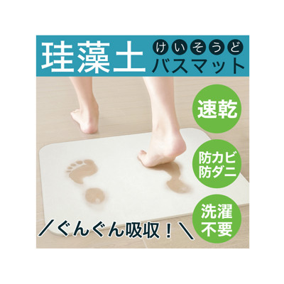 日本 Hiro 珪藻土超吸水快乾浴室墊 L (5.3折)
