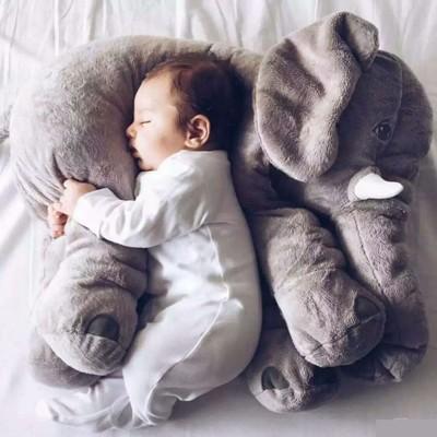 大象抱枕 IKEA 同款 彩色 安撫枕 靠枕 嬰兒 寵物 安撫 抱枕 絨毛娃娃【RS520】 (4.1折)