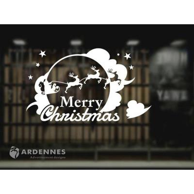【ARDENNES】耶誕節慶佈置/玻璃貼/MA018聖誕之月 (7.9折)