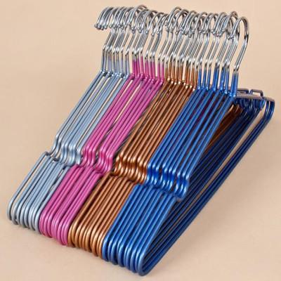加粗不鏽鋼覆膜耐重衣架 (0.2折)