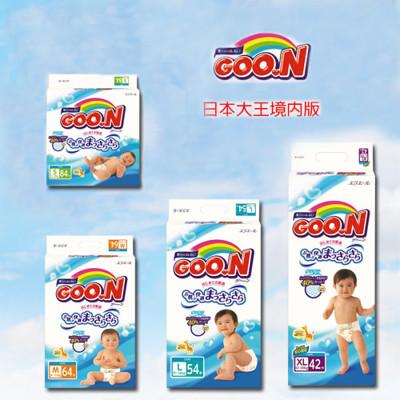 【日本大王】GOO.N紙尿褲黏貼型(境內版)S/M/L/XL一箱 (7.3折)