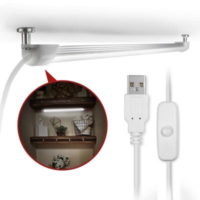 USB 線控開關式 磁吸式超薄型LED燈管 (6.3折)
