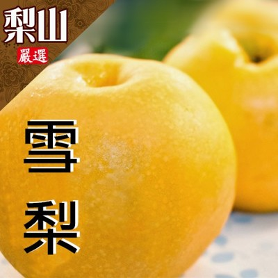 梨山鮮採多汁甜雪梨 (6.5折)