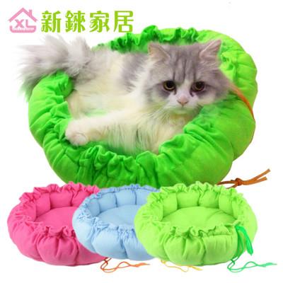 【新錸家居】超可愛狗狗貓貓南瓜窩睡墊/寵物窩-S號 (多色隨機出貨) (4折)
