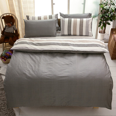 【FOCA-特大1】100%精梳純棉四件式兩用被床包組-多款任選 (3.6折)