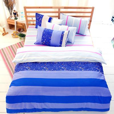 【FOCA-加大2】100%精梳純棉四件式兩用被床包組-多款任選 (2.6折)