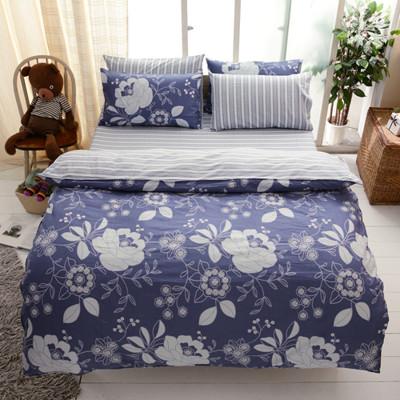 【FOCA-加大3】100%精梳純棉四件式兩用被床包組-多款任選 (3.4折)