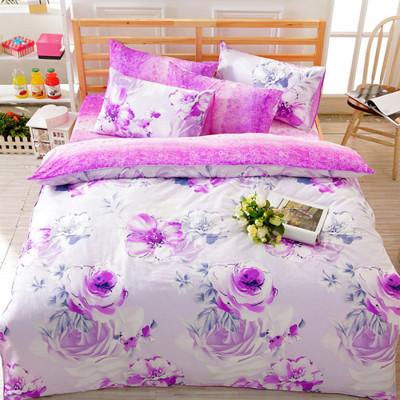 【FOCA-雙人2】100%精梳純棉四件式兩用被床包組-多款任選 (3.7折)