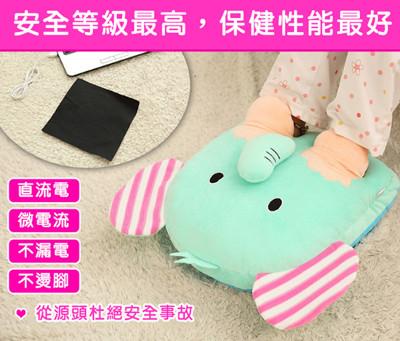 USB多用途加厚可拆洗發熱抱枕暖腳寶 (4.4折)