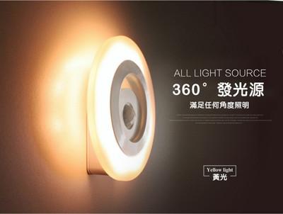 LED智慧光控人體感應燈 (3.7折)